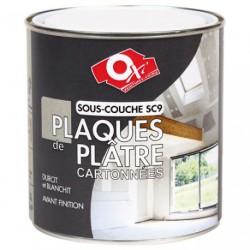SOUS COUCHE PLAQ.PLATRE CARTON SC9 0.5