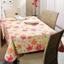 NAPPE TOILE CIREE MATCH ANTIGUA    140